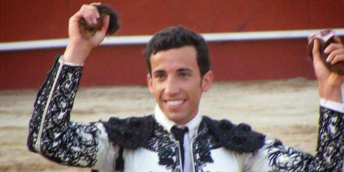El novillero onubense David de Miranda.