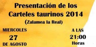 Convocatoria de presentación de los carteles de Zalamea.