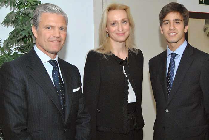 Espartaco, Macarena Bazán y el onubense Emilio Silvera.