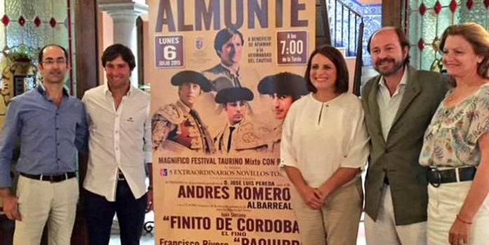 Acto de presentación del festival de Almonte. (FOTO: Arizmendi)
