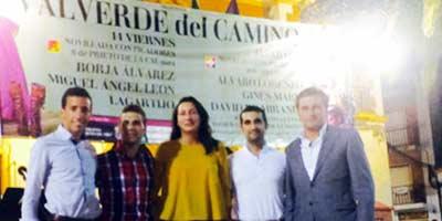 Acto de presentación de la Feria de Valverde.