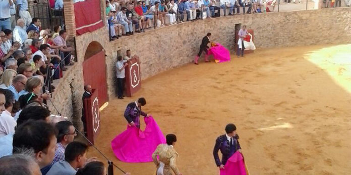 Plaza de toros de Almonaster la Real.