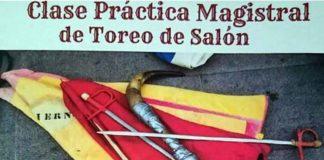 Cartel del acto de promoción taurina en Palos.